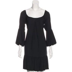 Black Diane von Furstenberg mini dress